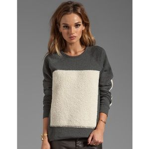 Pjk Pisces pullover in charcoal